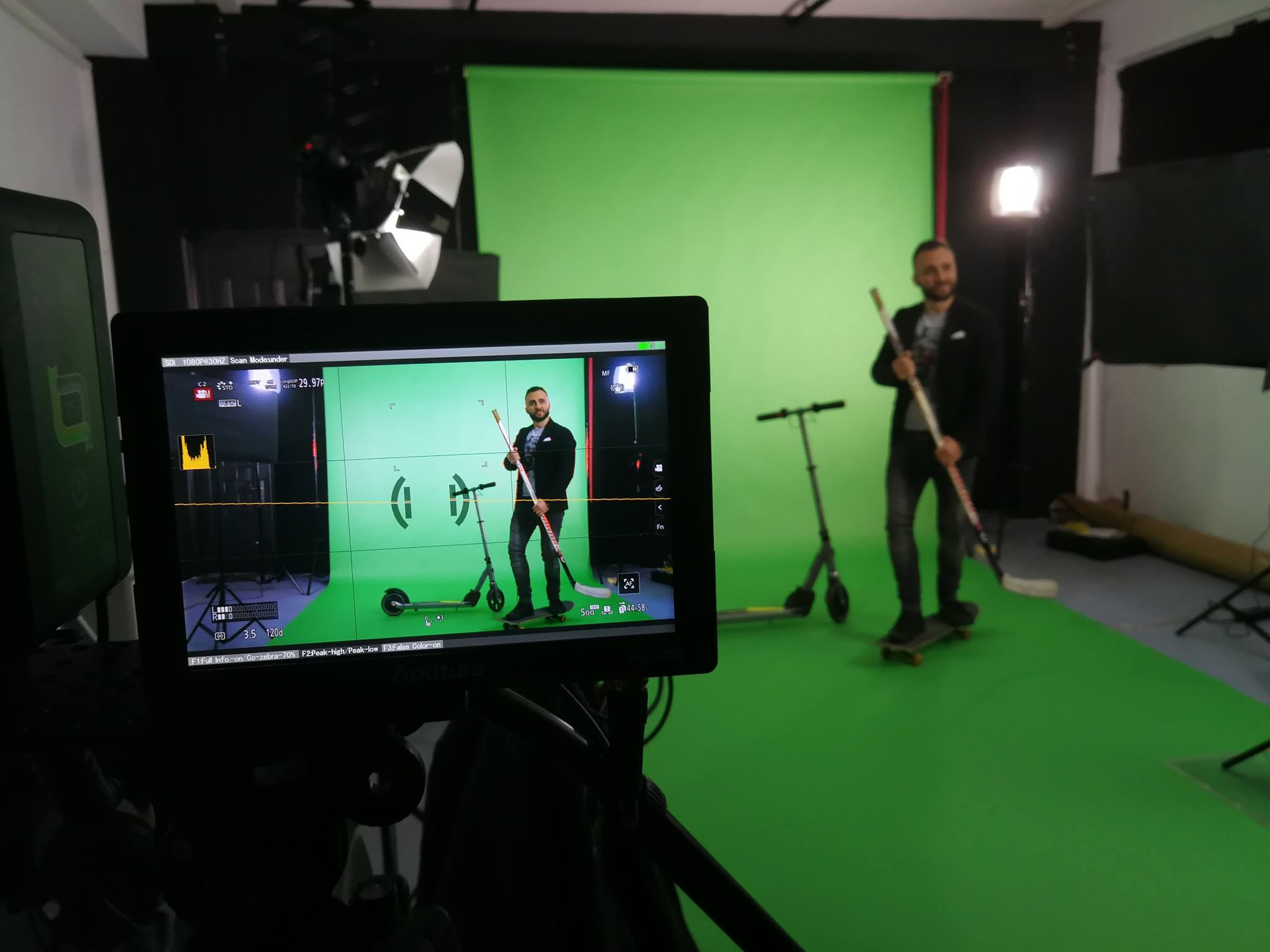 video of image production